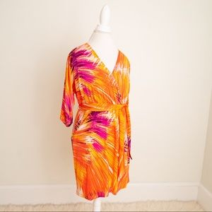 NWT Colorful Printed Dress